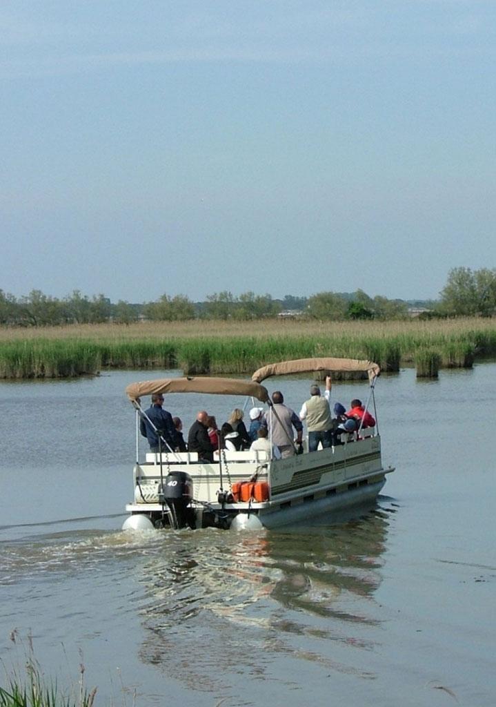 Gita in Barca Delta del Po