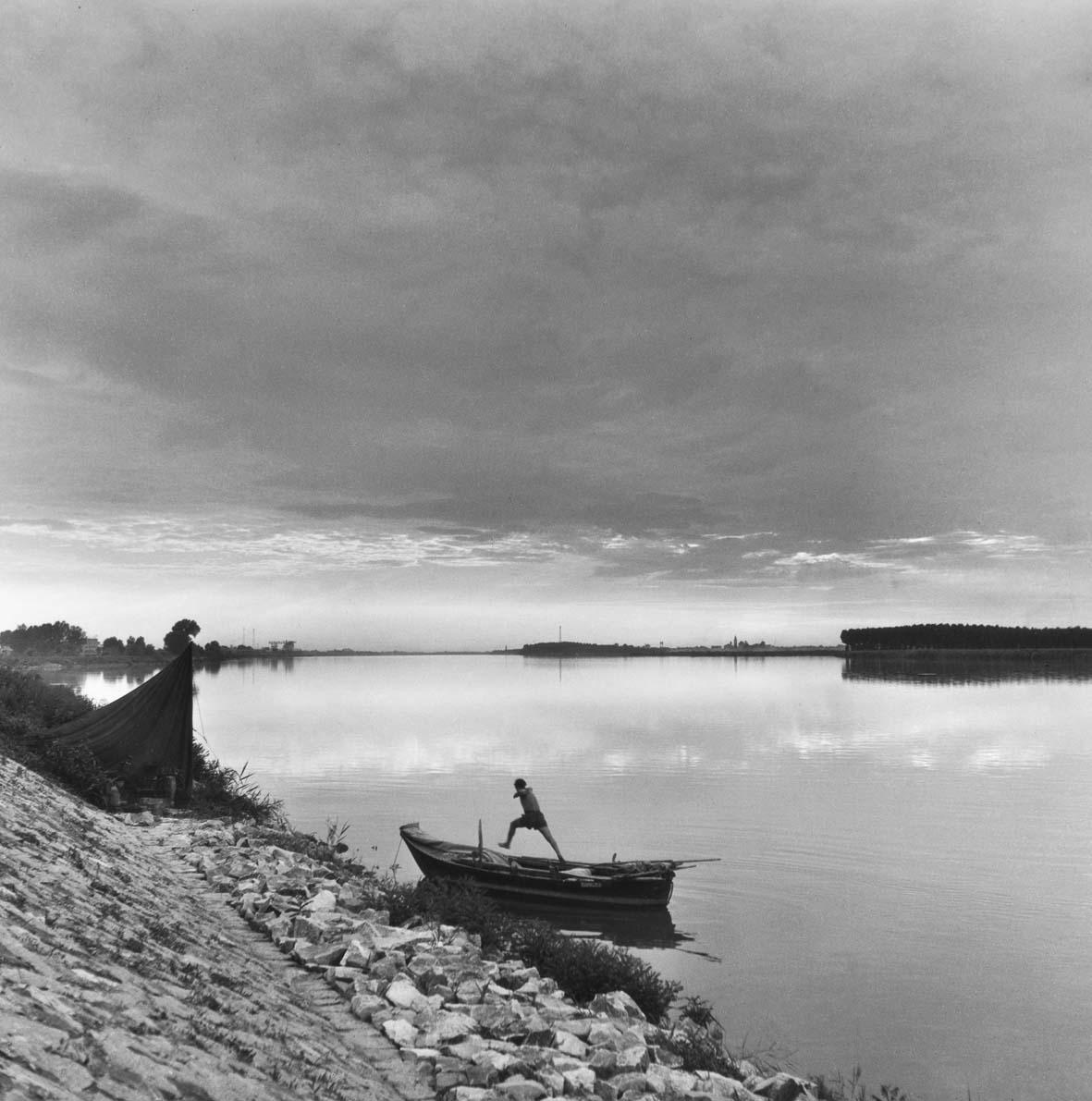 Delta del Po (D.223). Il Po di Tolle, 1954