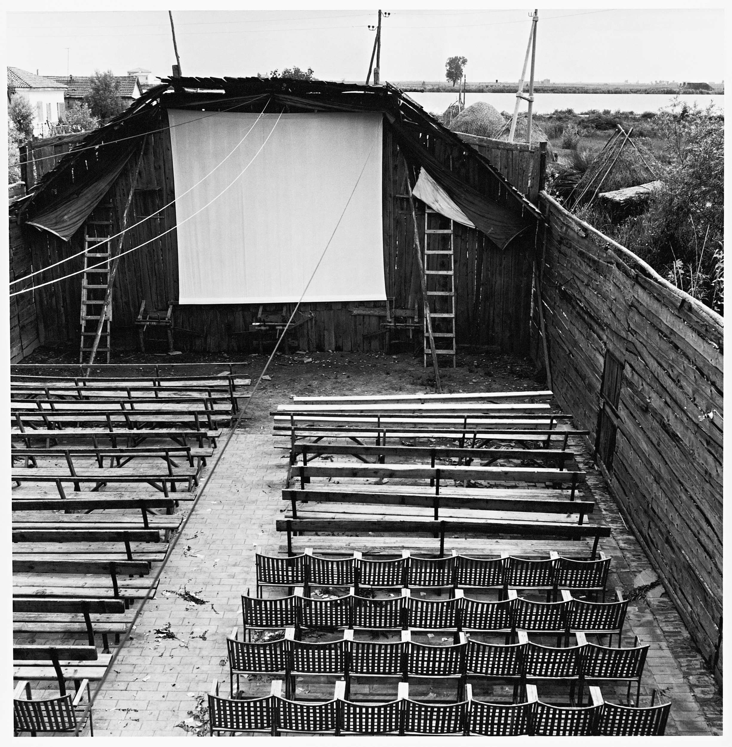 Cinema a Pila, 1954