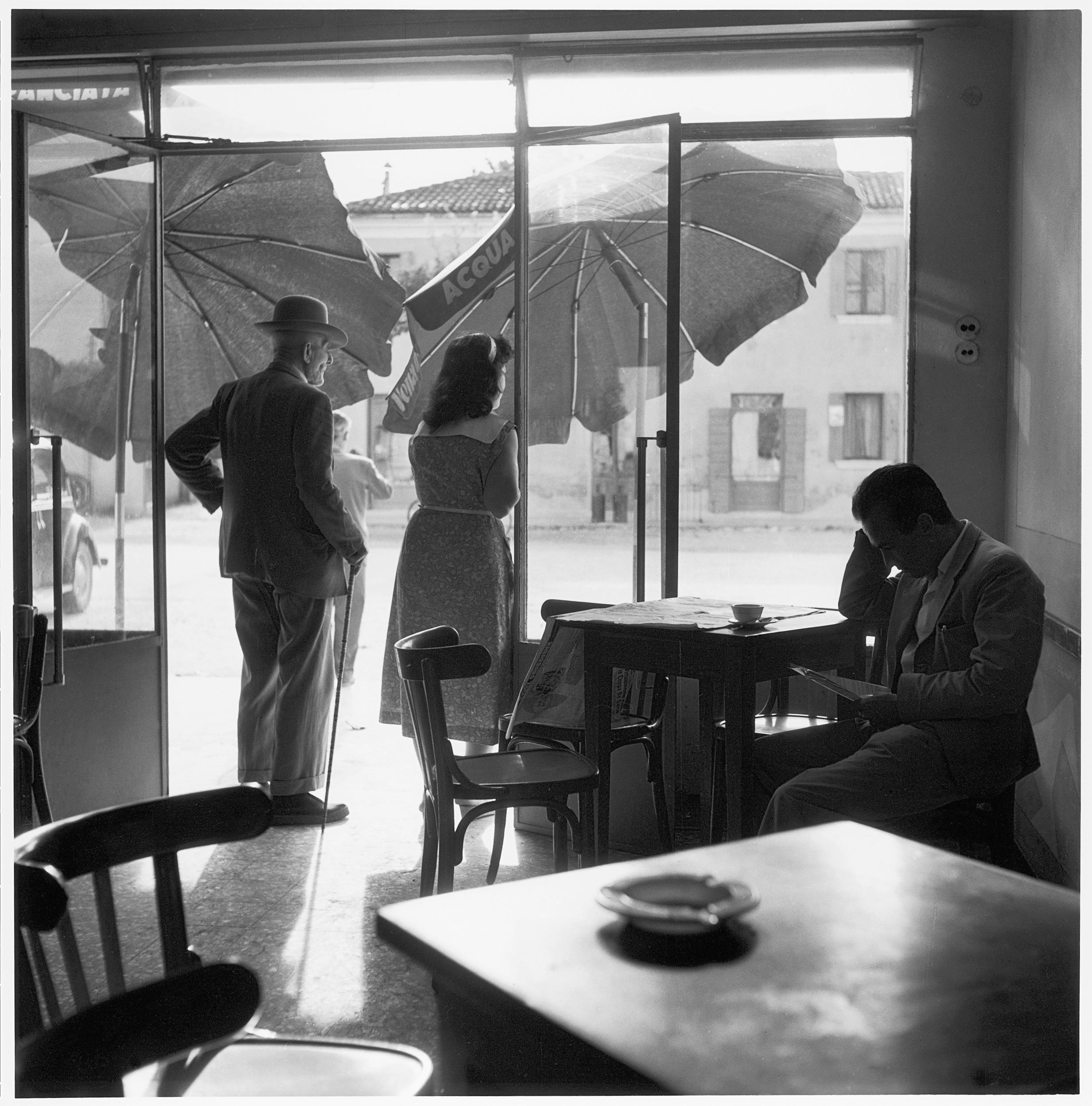 Caffè a Rosolina, 1954